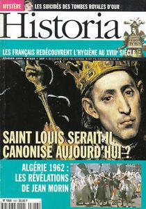 Revue-Historia-Saint-louis-no-626-fevrier-1999-book