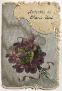 Maria-Zell-Wallfahrt-Heiligenbild-Andachtsbild-Osterreich-Koloriert-M-5789
