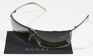 GUCCI-Neon-Green-GG-2653-S-L4E-Recent-Model-Made-in-Italy-Sunglasses