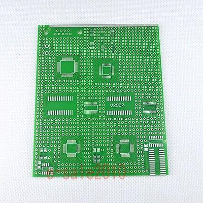 SMD/SMT TQFP64,TQFP48,TQFP32 IC Experiment Prototyping PCB Board Prototype P02