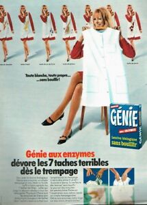 Breweriana, Beer Q Publicité Advertising 1969 La Lessive Genie