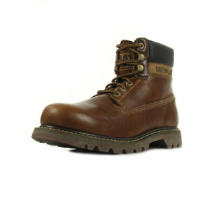 462b1ea871c50e ... Chaussures-Boots-Caterpillar-homme-Colorado-taille-Marron-Cuir-