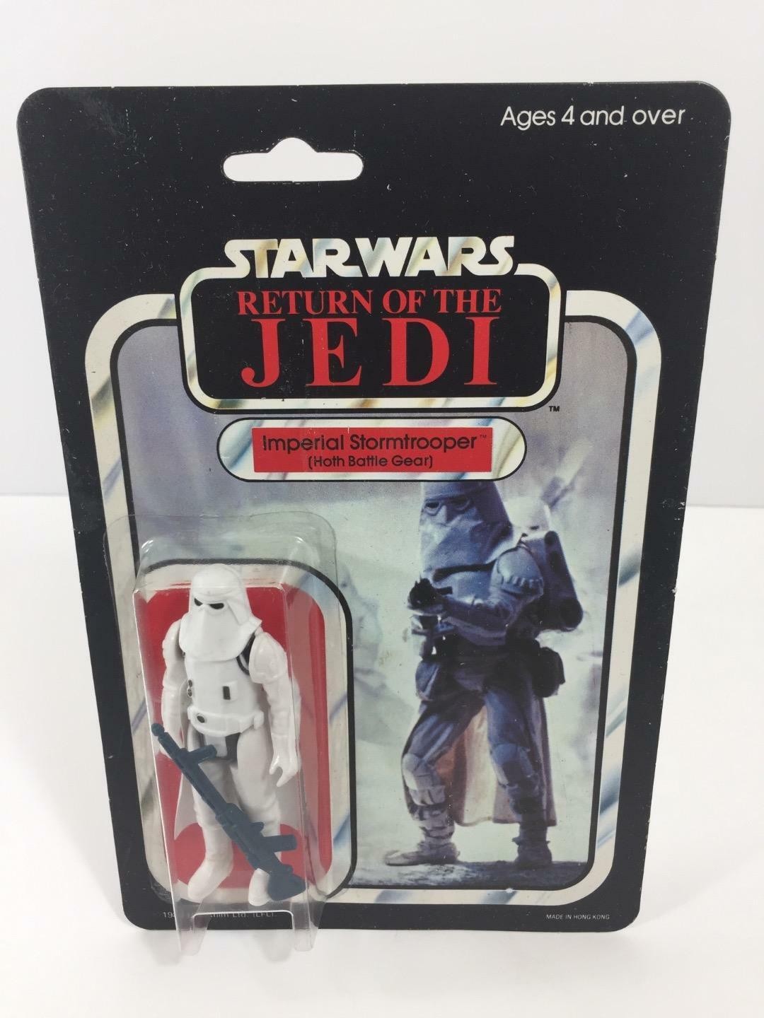 Star Wars 1983 Kenner PALITOY redJ IMPERIAL STORMTROOPER (Snowtrooper) c-7.5 b-9