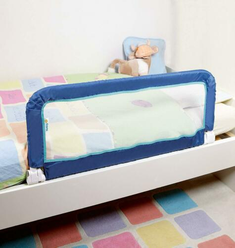 BED SIDE RAIL Safety Guard Baby Kids Children Toddlers DARK BLUE For Home New