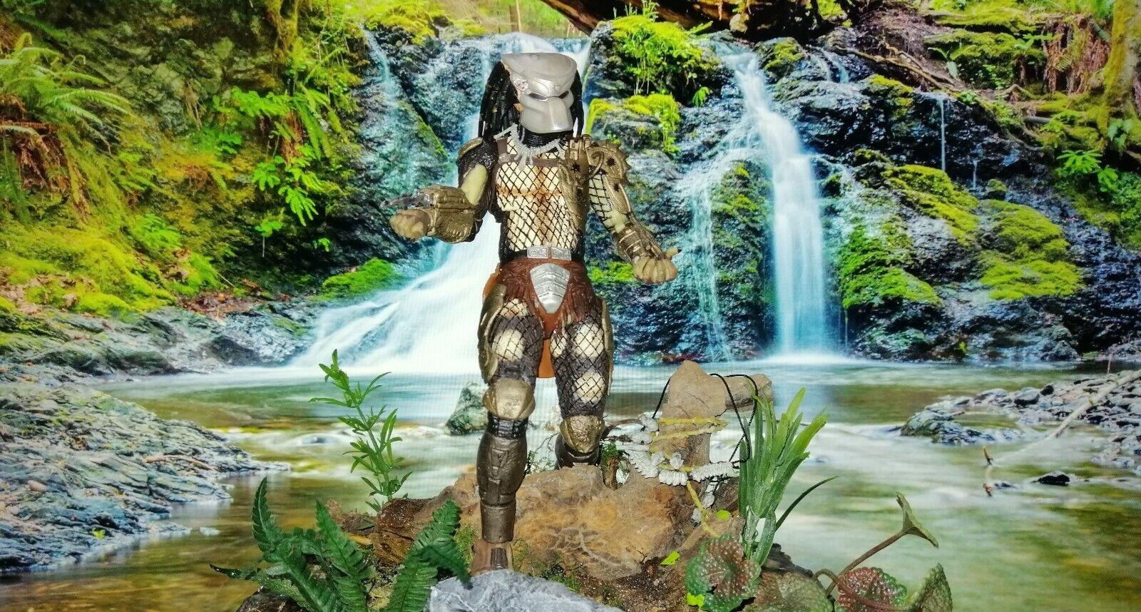 Diorama predator scale 1 6 rare and unique figure neca 17 cm