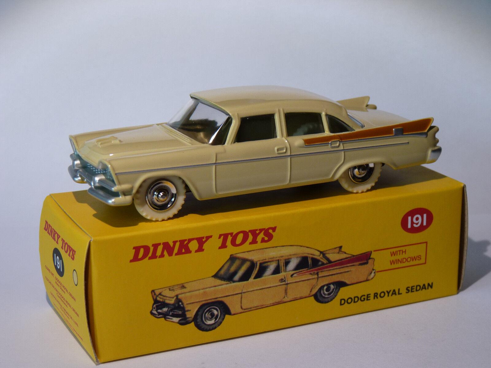 DODGE ROYAL SEDAN ref. 191 au 1 43 dinky toys atlas   DeAgostini
