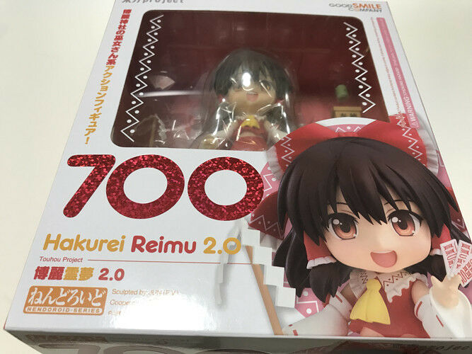 Nendoroid 700 Touhou Project REIMU HAKUREI 2.0 Figure Good F/S Smile Company NEW F/S Good 86625e