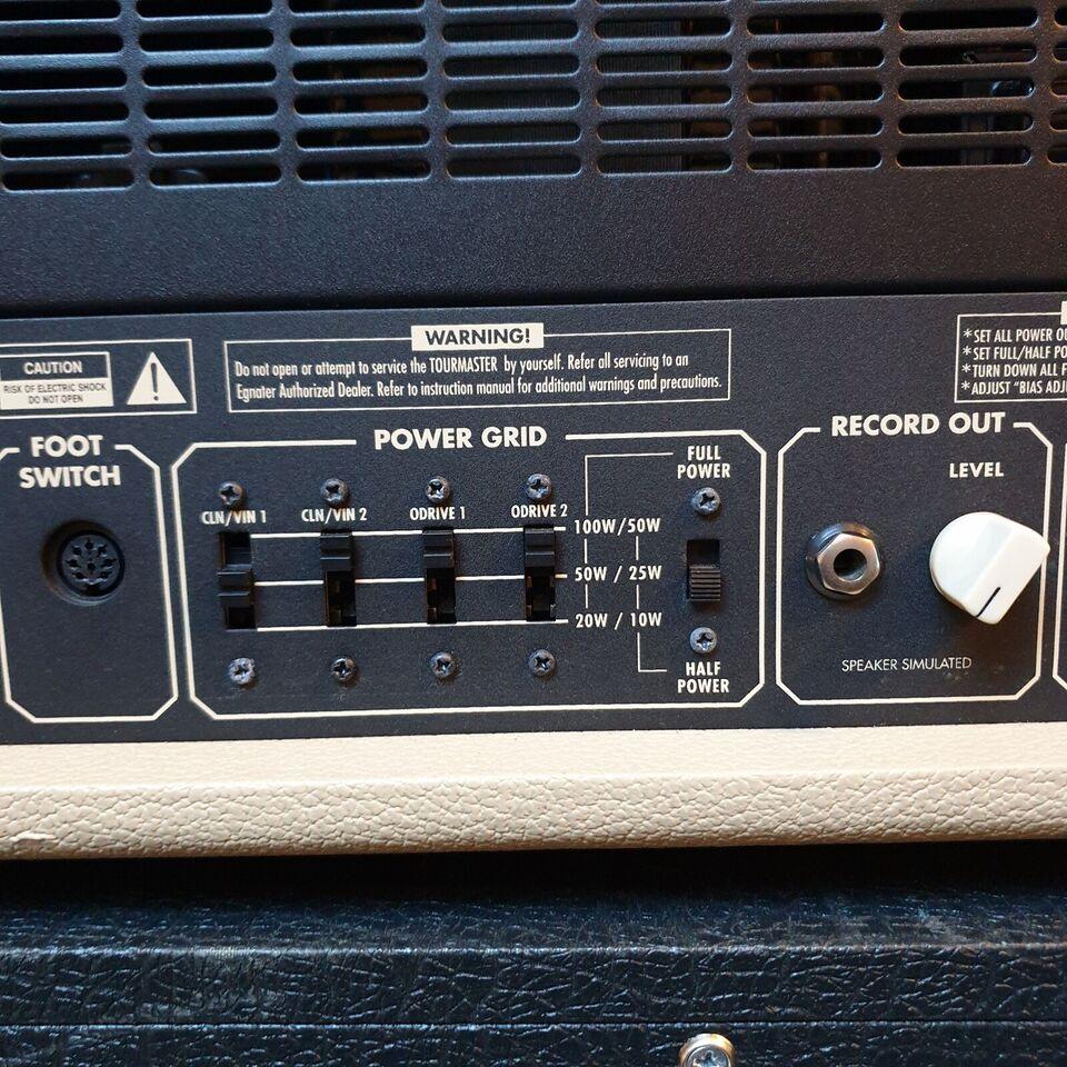 Guitarforstærker, Egnater Tourmaster 4100, 100 W