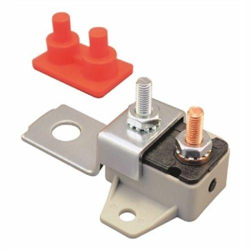 50 Amp 12V 24V Re settable Inline Circuit Breaker with bracket Kit Marine