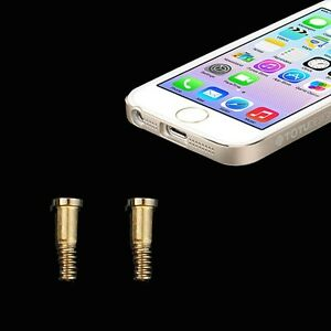 Pentalobe-Torx-Gehause-Schrauben-fur-Apple-iPhone-5-5s-Backcover-2-Stuck-Gold