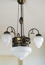 Jugendstil Deckenlampe Alte Lampe Antik Kronleuchter Art Nouveau Lamp Chandelier