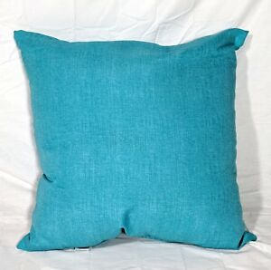 Mainstays-Outdoor-Patio-Dining-Seat-Pillow-Back-Cushion-Solid-Turquoise-21x21x6-034