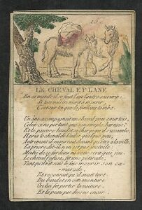 Card-Engraving-Fable-Illustrated-Aesop-the-Fountain-Horse-and-Ane-15-fin18e