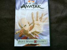 Nick  DVD  AVATAR Der Herr der Elemente  Buch 1 : WASSER  Volume 1