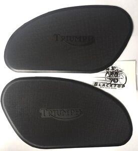 Triumph-Knee-Tank-Grips-Pads-1966-67-82-5401-82-5402-EXPRESS-POST