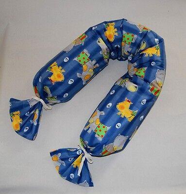 Stillzubehör Hilfreich Bezug Stillkissen Claribello Neu 160x20 Cm Hund Blau Für Stillschlange Jw-709
