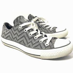 zapatillas converse mujer gris