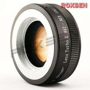 Zhongyi-Lens-Turbo-II-Focal-Reducer-Booster-Adapter-M42-mount-to-Sony-E-NEX-5T-7