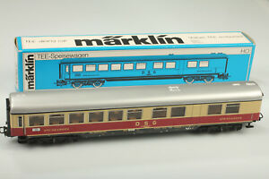 H0-Marklin-4087-Classique-Tee-DSG-Wagon-Restaurant-Video-Regarder