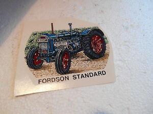 """1990 S 3"""" Surface Lisse Transfert De Fordson Standard Tracteur-afficher Le Titre D'origine"""