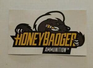 Details about Honey Badger Ammunition™ Black Hills Ammo Sticker Shot Show  2019 8