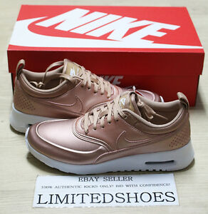 a71a0fbb1a WMNS NIKE AIR MAX THEA SE METALLIC RED BRONZE WHITE 861674-902 pink ...