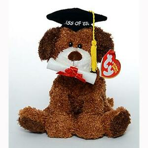 Honor Roll Class of 2007 Dog Retired Beanie Baby MWMT Collectible Ty Exclusive