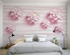 3D Simple Flowers 867 Wall Paper Murals Wall Print Wall Wallpaper Mural AU Kyra