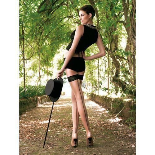 Nuovo Cosmetico Trasparenze Contiene Autoreggente Collant Fino Jessy Calze SqTvS