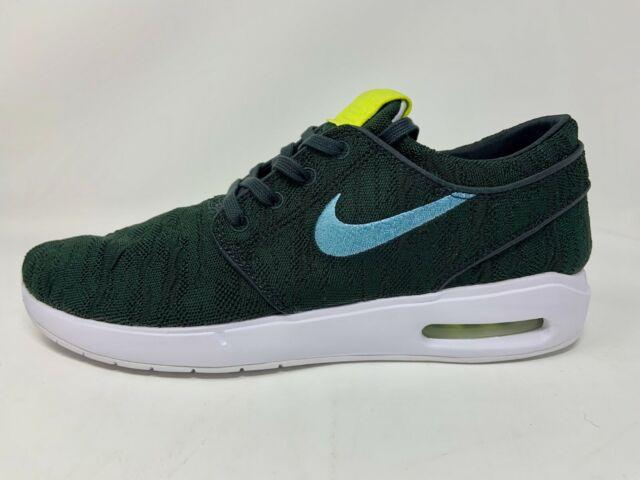 Nike SB Air Max Stefan Janoski 2 Mens Size 11 Premium Skate Shoes Off Noir