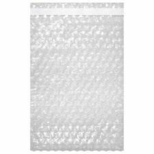 12 X 155 Bubble Out Pouches Bags Wrap Cushioning Self Seal Clear Protective