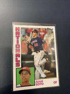 Juan Soto Washington Nationals Topps 35 Anniversary Baseball Card