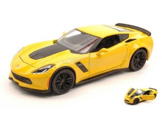 Maisto 2015 Corvette ZO6 giallo, 1:24 Art. 31133