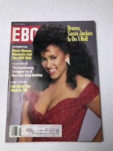 Ebony Magazine January 1988 Jackee Cover Dr.King | eBay