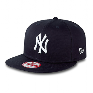 NEW ERA NEW Mens NY Yankees Essential 9Fifty Snapback Cap Navy BNWT