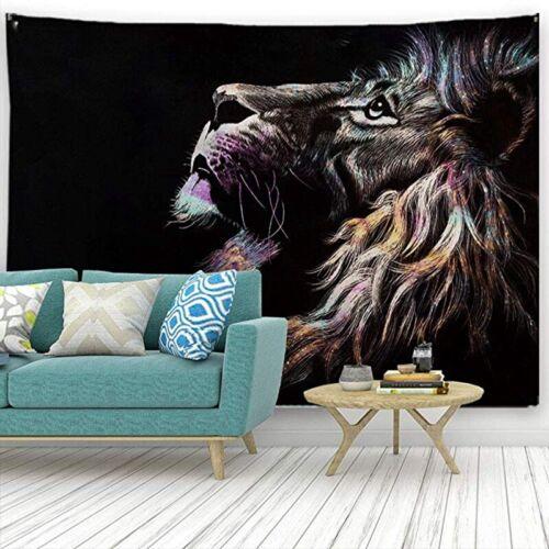 Animal Dinosaur Phoenix Tiger Wall Hanging Tapestry Art Room Decor Tapestries