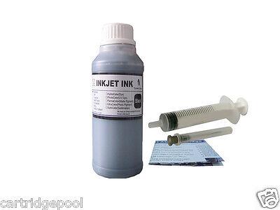 250ml Black Refill ink for Canon PG-240 MG2120 MG2220 MG3120 MG3122 MG3220