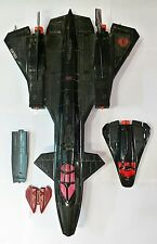*Vtg GI Joe Cobra Night Raven S3P & Pod Hasbro 1986 Incomplete 80s G.I.