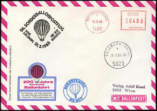 Austria 1983 Balloon Post Flight Cover #C16194