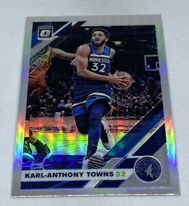 2019-20-DONRUSS-OPTIC-SILVER-PRIZM-HOLO-131-KARL-ANTHONY-TOWNS-TIMBERWOLVES