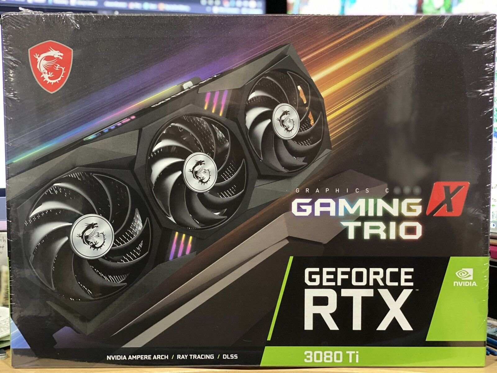 MSI GeForce RTX 3080 Ti GAMING X TRIO 12G Sealed IN HAND Graphics Card ships USA