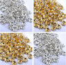 CZECH CRYSTAL Rhinestone SILVER Rondelle Spacer BEADS 4MM 5MM 6MM 7MM 8MM 10MM