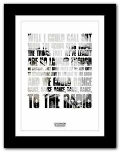 JOY-DIVISION-Transmission-lyric-typography-poster-art-print-A1-A2-A3-or-A4