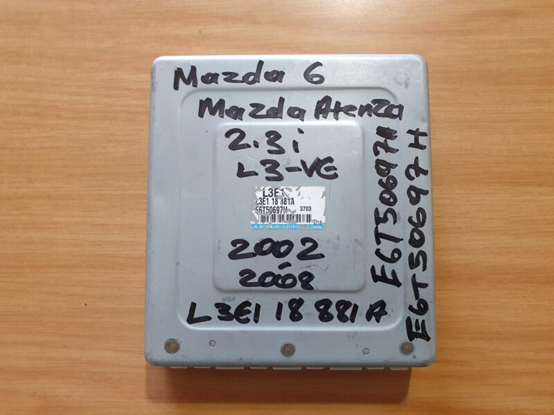 Mazda 6 GG 2.3i L3-VE 2002-2008 ECU part # L3E1 18 881A