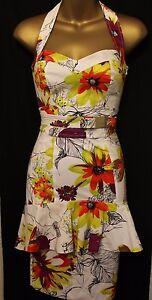 Karen-Millen-Floral-Print-Sweetheart-Peplum-Halter-Neck-Sleeveless-Dress-6-34