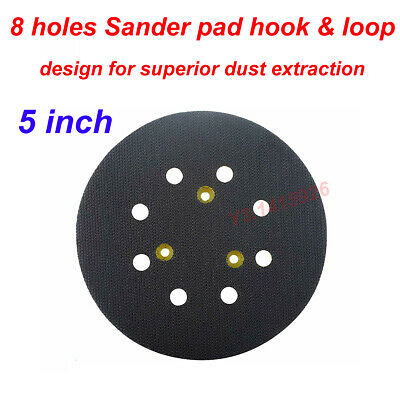 "5/"" 8hole Sander Pad Hook /& Loop Dewalt Porter Cable Decker 151281-08 DW421K NEW"