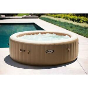 "Intex 85"" X 28"" PureSpa Bubble Massage Inflatable Spa Set, 6-Person (28427E)"