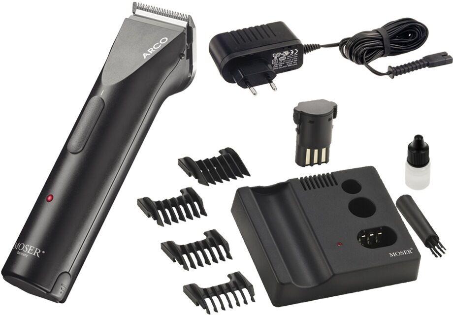 risparmiare sulla liquidazione MOSER ARCO 1854 Professional Professional Professional cordless animal clipper 100-240V 1854-0081  negozio di sconto