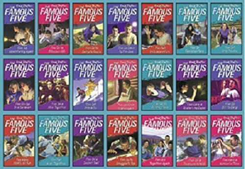 Famous Five completare 21  libros Collection [Jan 01, 2012] Blyton, Enid  preferenziale