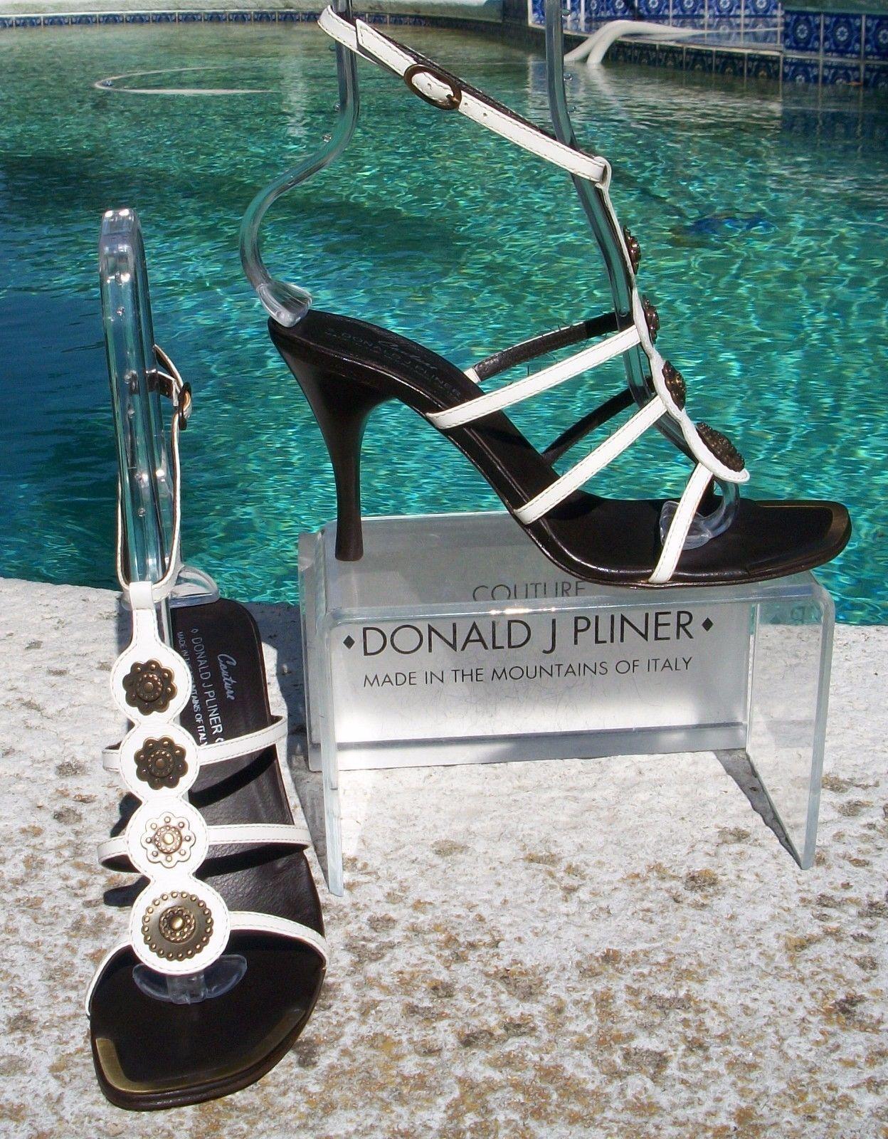 offerta speciale Donald Pliner Couture Couture Couture Vachetta Leather scarpe New Exotic Strappy Sandal  285 NIB  compra meglio